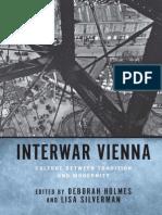Holmes and Silverman, Interwar Vienna