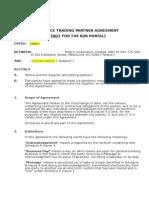 Ecommerce Trading Agreement Nb2b