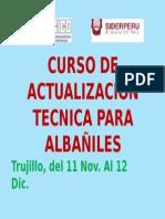 Curso de Actualizacion Para Albañiles