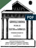 Electra (Bantock, Granville)