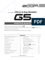 G5 OperationManual English