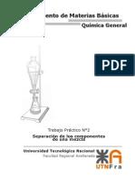 TP2 - Separación de Los Componentes de Una Mezcla