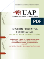 Gestion Educativa Empresarial