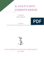 Musica, Culti e Riti Nell'Occidente Greco