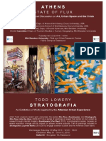Athens State of Flux Strato Graf i a Poster