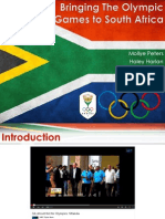 bringing the olympic games to south africa