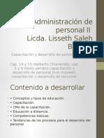 Administración de Personal II Capacitacion y Desarrollo de Personal
