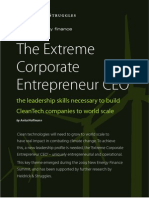 The Extreme Corporate Entrepreneur CEO