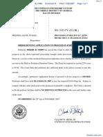 Tripp v. Davis - Document No. 4
