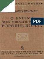 O Enigmă Şi Un Miracol Istoric. Poporul Român''