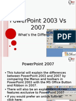 ms office 2003 and 2007