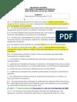 o Regimento Interno Da Câmara Do Rio de Janeiro
