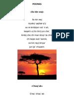 Poemas y Canciones en K´iche