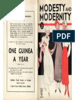 Swanton, M. de R. Modesty and Modernity. Dublin