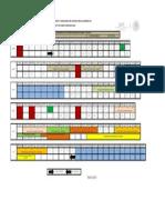 Calendario Dosificacion Feb-julio 2015 2a m1s3 Instala