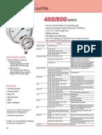 400-500 Series Stainless Steel Gauges