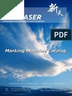Datasheet of Fiber Laser Mark Machine