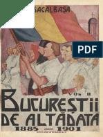Bucurestii de alta data, vol. II