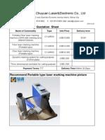 Robin Quotation Sheet Fiber Laser140326