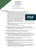 borkowski resume