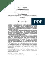 Finocchio- dussel Prologo enseñar Hoy.pdf