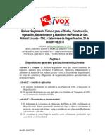 Reglamento Tecnico Para La Construccion de Plantas de Gnl
