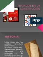 Tratados en La Constitución 2