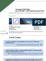Euro Credit Risk  Feb2010