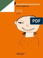 PROGRAMM Des Familienzentrums Mehringdamm Von Januar Bis Juli 2015