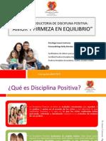Charla Introductoria Disciplina Positiva Abreviada