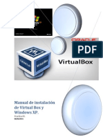 Manual de Instalación de Virtual Box y Windows XP