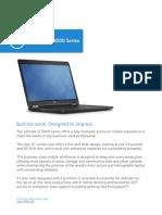Dell Latitude 12 5000 Series (E5250) Business Notebook