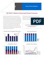 Cooley Venture Financing Report Q2 2015