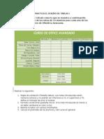 Ejercicio Excel 2