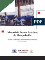 Manual de Buenas Practicas de Manipulacion de Alimentos