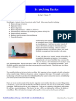 Stretching Basics 12-01-20