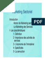 Marketing Sectorieln