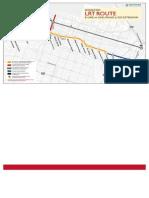 Hamilton LRT route