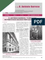 Boletim D. António Barroso n.º 14