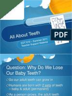 114981945 Animal Teeth vs Human Teeth PPT Teacher Version