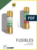 Catalogo Fusibles Mercury & Karp