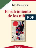 PABLO PEUSNER_El Sufrimiento de Los Niños (2a Edición)