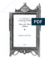 Duets for Soprano and Tenor