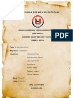 Informe Dinero Eectronico