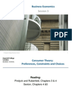 Business Economics Sessions 3 & 4
