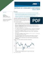 Consumer Confidence vs GDP