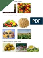 Alimentos Energeticos Ricos en Azucares