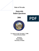 Nevada Ballot Question #2 (2006)
