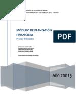 Plenaria Planeación Financiera 1, UMNG