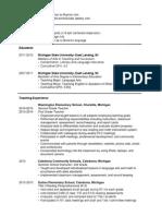 strachan online resume 2015